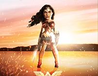 Wonder Woman - Caricature