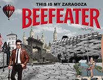 Valla publicitaria Beefeater: This is my Zaragoza