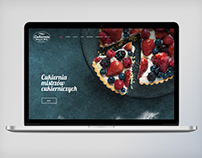 Web design project- Cracow-based bakery