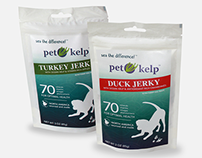 Pet Kelp Jerky Treats Packaging