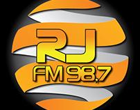Redesign de Marca RJFM 98,7