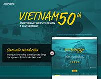 Vietnam Veterans' 50th Anniversary Website