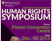 Human Rights Symposium | Aberystwyth University