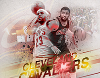Cleveland Cavaliers Finals graphic