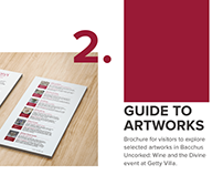 Guide to Artworks. Design Projects at Getty Villa