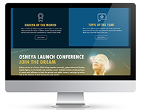 Website design - Osheya
