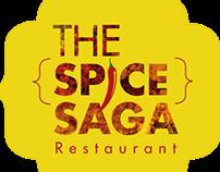 Spice Saga Restaurant Logo, Icon & UI