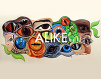 ALIKE Mural