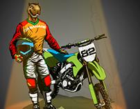 Chigüiro motocrossita