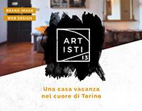 Artisti13: Brand image & Website