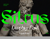 Dx Sitrus - Free to Try Font