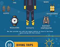 DIVING PICKS Infographic