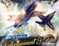 Air Show Entertainment Festival Concept
