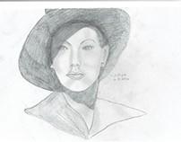Ava Gardner lookalike