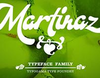 Martinaz typeface