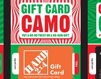 Gift Card Camo