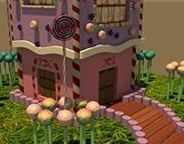 Casa de Doces - Modelagem Virtual