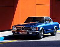 Mercedes-Benz SL R107 | Full CGI