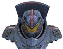 Pacific Rim Gipsy Danger Bust for Diamond Select Toys