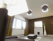 Living Room in Unreal Engine