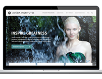 Aveda Website Redesign