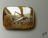 MY Golden Play Button -Drawing