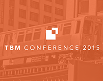 TBM Conference 2015 Branding