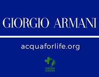 Acqua For Life for Giorgio Armani