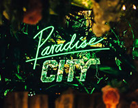 Paradise City Logo & Posters