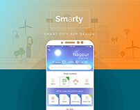 Smarty - Conceptual Smart City App