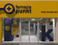 concept retail - farmacia PUNKT