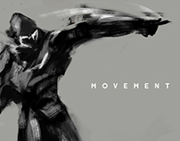 Movement, a painterly project.
