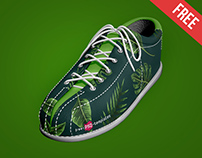 Free Shoe Mock-up in PSD