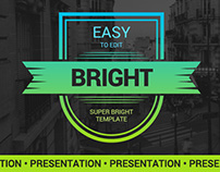 Bright Easy Powerpoint Template