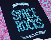 Space Rocks Packaging