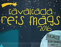 Cartel Cabalgata Reyes Magos 2016