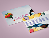 "Parachute festival invitation ""Yerevan 2015"""
