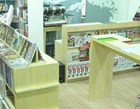 La Madriguera del Conejo Libreria- Interior design