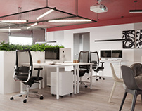 Office interior design in Moscow
