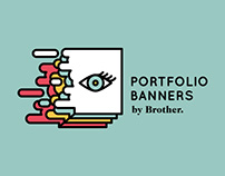 Portfolio Banners / Brother Ad School