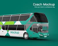 Neoplan Skyliner Coach Mockup