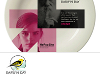 Darwin Day Commemoration Concept