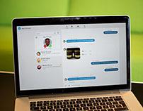 Ericsson -  Web based communication platform