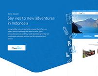 Retouch - Website design tour & travel