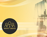 World Talents Corporate Identity Yellow Logo