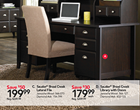 Office Depot - Sauder Shoal Creek Collection Weekly Ad