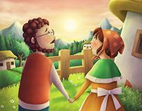 Water Maiden - Bilingual Children's Book