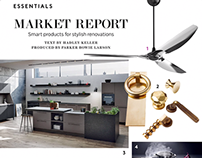 Tablet Design: Architectural Digest magazine