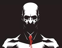 Hitman: Blood Money - Alternate Video Game Cover