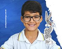 Escola Pernalonga - Branding + Campanha